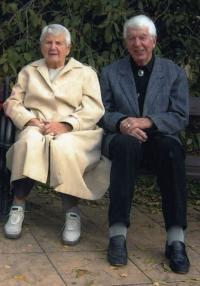 Ladislav Lašek with his wife Irena