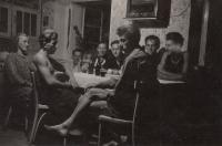 Family meeting at Vinná