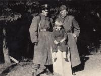 Border Guard in Šumava (Hojsova Stráž) and son Richard