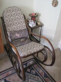 Ladislav Lašek's famous rocking chair, which was the biggest fight here, when students were preparing for graduation