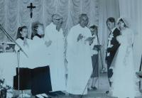 František Lízna 1995 svatební obřad