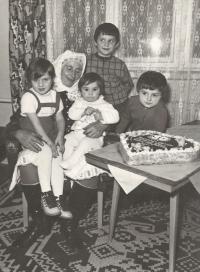 1974 - Antonie s vnuky
