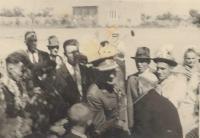 1946 - Ministr Antonín Hasal na svatbě Antonie Fryštacké