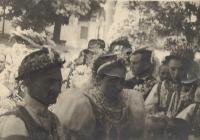 1946 - svatba: manželé Antonie a Jan