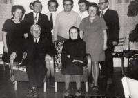 family, front parents Vladislav and Anna Vlk