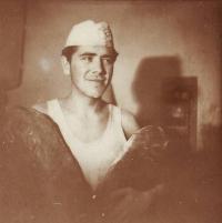 Pavel G. Fehér – práce v pekárně (1957)