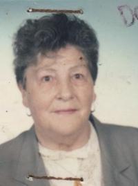 Marianne Jarkulišová, roz. Neupert, při odchodu do důchodu