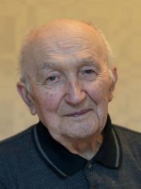 Pamětník Antonín Pospíšil - současná fotografie.