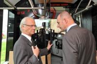 Návštěva švédského krále Gustafa XVI. ve Škodovce