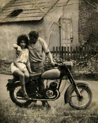 Se svou bývalou ženou