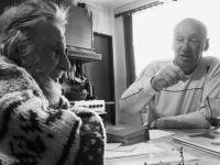 Rudolf a Josef Bělohoubkovi na setkání po čtyřiceti letech