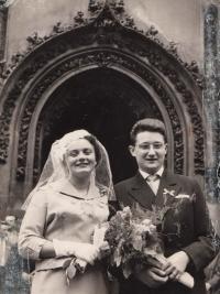 Jarmila a Lubor Dvořák v březnu 1959