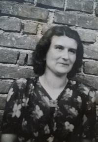 Eva Roubínková na konci války