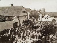 Obec Sedlec v roce 1907 – Slavnosti dobrovolných hasičů