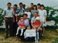 The Langer family in 1996