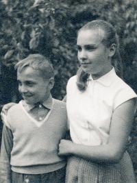 Béla Szaló se sestrou, 60. léta