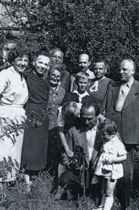 Sešlost rodiny Szaló, rok 1961