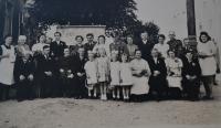 Svatební fotografie. Drážďany 1943.
