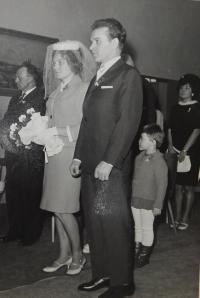 Svatba strýce Vratislava Švédy po propuštění z vězení