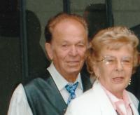 Petr Gibian se svou družkou