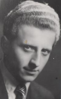 Maturitní foto Eduarda Krause, Karlovy Vary, 1955