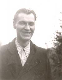 Otec Jany Pikousové Jaroslav Matoulka; vyfocen ve 30. letech 20. století