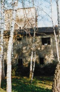 Family estate in Lošany at the time of restitution
