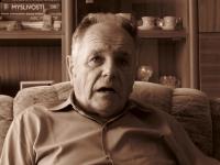 Miroslav Matějka během rozhovoru (srpen 2008)