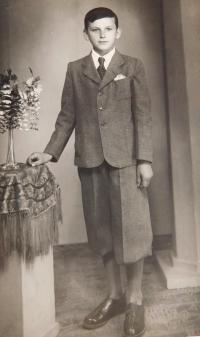 Josef Hocz v dětství