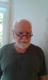 Petr Pavlík, portrait, Prague 2018