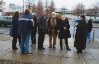 Doc. Petr Pavlík with his DAMU colleagues and students, Berlin 2009
