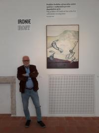 Petr Pavlík in the corner of irony of Richard Drury, GASK Kutná Hora 2018