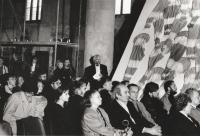 Petr Pavlík at Regensburg, Germany. 1st large exhibition of Czechoslovak art abroad INOFFIZZIELL Kunst dr ČSSR 1968-1989