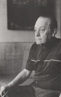 Jindřich Chalupecký, 1989, photo by Viktor Stoilov