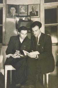 Ilias Cumaropulos s kamarádem