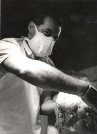 Antonín Doležal - u porodu