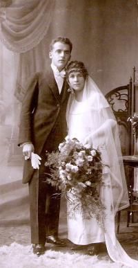svatba rodičů ve Vídni