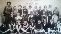 School class of Lysá nad Labem in 1940