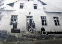 Dům ve Skelné (Glasserwald), ve kterém rodina bydlela po přestěhování do Čech