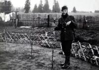 Hubert Babor v roce 1967 v lesnické uniformě
