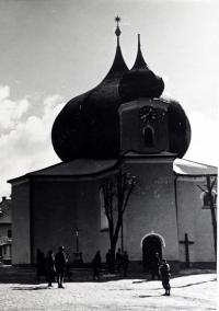 The Church in Železná Ruda before the Second World War
