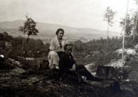 JUDr. Antoš and his wife (parents of Marie's husband)