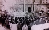 Protesty lidí