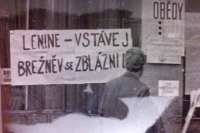 Nápisy - lidová tvořivost, Liberec, srpen 1968