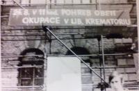 Info o pohřbu obětí, Liberec, srpen 1968