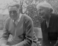 Parents Jaromír and Růžena Dobrovolná