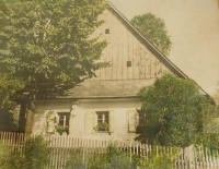 The original house of the Spinler family in Dolní Dobrouč