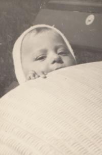 Jan Hrad jako malý chlapec