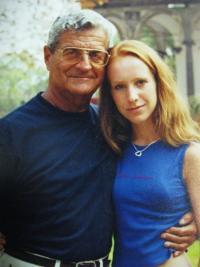 S vnučkou v roce 2006