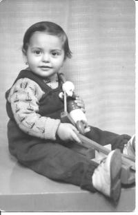 Blanka Dospělová roku 1958